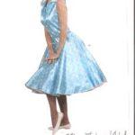 50er jahre kleid türkis