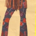 Hippie hose bunt