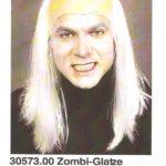 Perücke zombi glatze