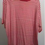 T-shirt rot weiß