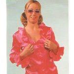 hippie bluse pink