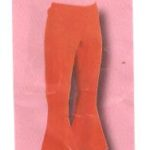 hippie hose orange